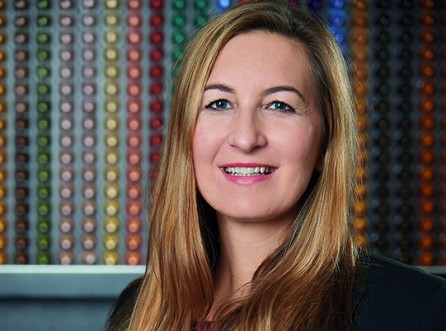 Catharina Riess, Marketing und E-Commerce Director Nespresso Österreich, im ABW-Talk